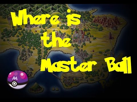 Where Is: The Master Ball (Pokemon Blue/Red/Yellow)