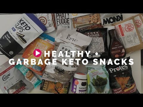 Healthy + GARBAGE Keto Snacks (DO NOT EAT SOME OF THESE!)