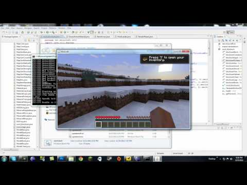 Minecraft Modding Made Easy: Custom Armor and Armor Material! Part 2 (HD)