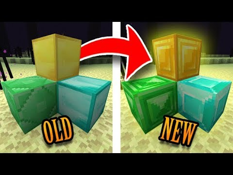 Minecraft Has New Textures!