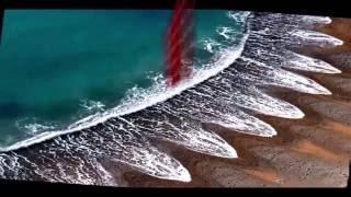 شاهد ظهور أمواج غريبة الشكل على شواطئ مختلفة تحير العلماء