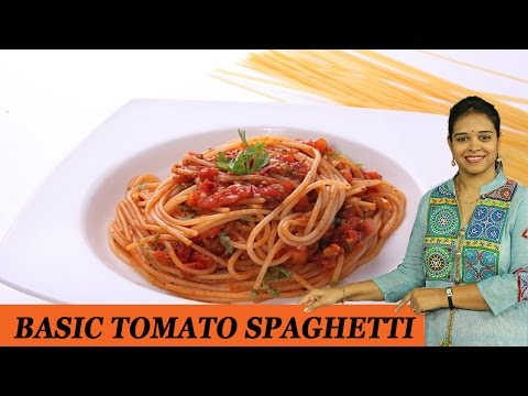 Basic Tomato Spaghetti - Mrs Vahchef