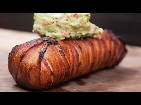 Bacon-Wrapped Steak Breakfast Burrito