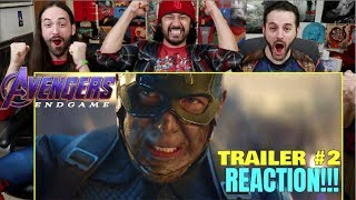 Download AVENGERS: ENDGAME - Official TRAILER #2 - REACTION!!! Video