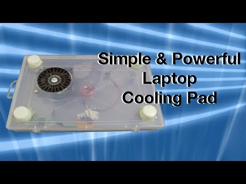 Custom made laptop cooling pad for gaming   Homemade