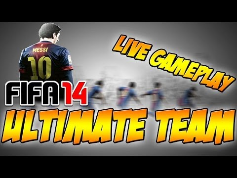 Fifa 14 Ultimate Team LIVE (Gameplay)