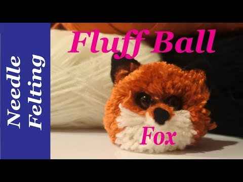 How to make a pompom fox