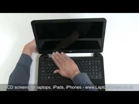 How to replace laptop screen / Fixing LCD on HP 15 Notebook PC