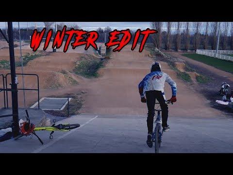 BMX Race - Winter edit in Gerzat [riding speed] // 2018
