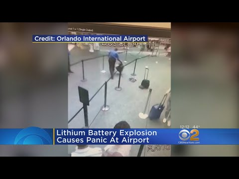 Smoking Bag Panics Travelers At Orlando Airport