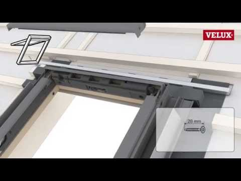 Installation Of Velux Roof Windows With An Edw Flashing Gll