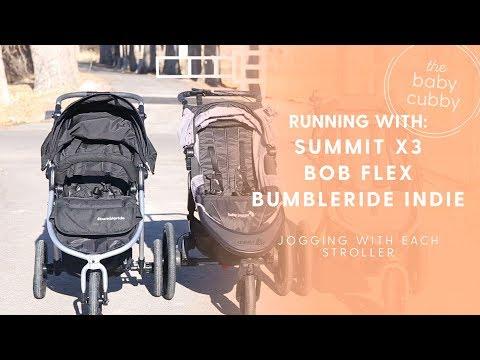 Jogging Lifestyle: Baby Jogger Summit X3, BOB Revolution Flex, Bumbleride Indie