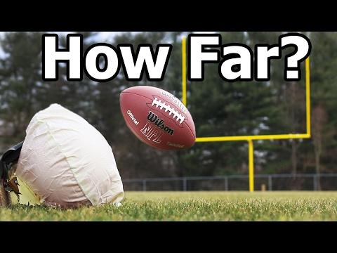 How Far Can an Airbag Launch a Football?