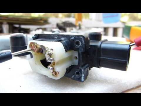 Power window motor + switch repair