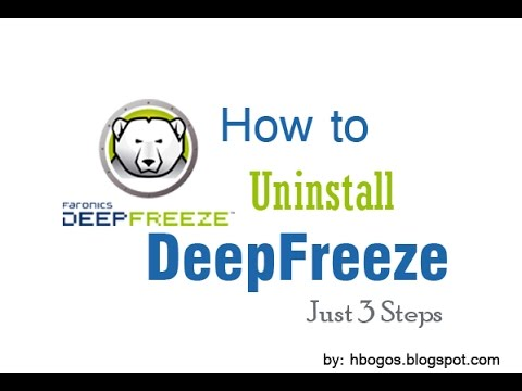 How to Uninstall DeepFreeze: Just 3 Steps [ VERY EASY ]