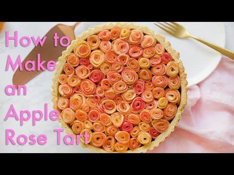 How to Make an Apple Rose Tart