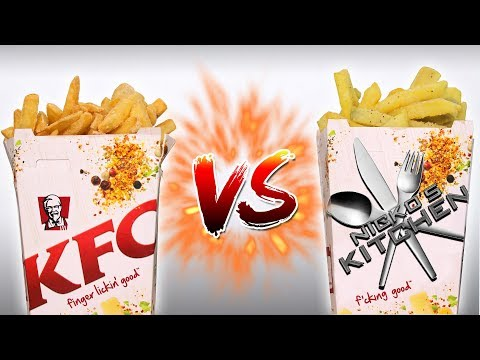 KFC vs HOMEMADE 🍟 PLUS 10 things YOU DIDN'T KNOW about KFC!