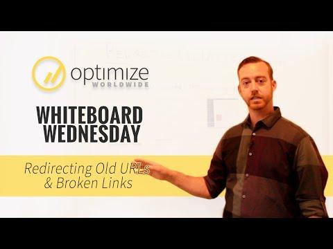 Redirecting Old URLs and Broken Links | Whiteboard Wednesday