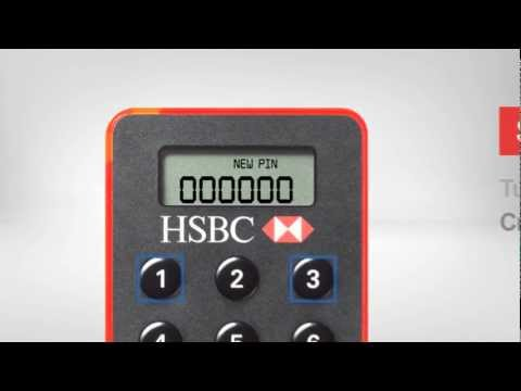 Existing HSBC Customers - Activate your Online Security Device and set up a PIN