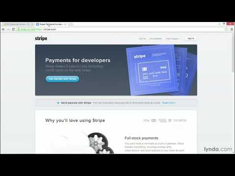Shopify tutorial: Setting up payments with Stripe | lynda.com