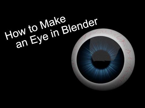 How to Make an Eyeball in Blender