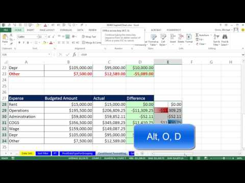 Basic Excel Business Analytics #14: Logical Formulas & Conditional Formatting to Visualizing Data