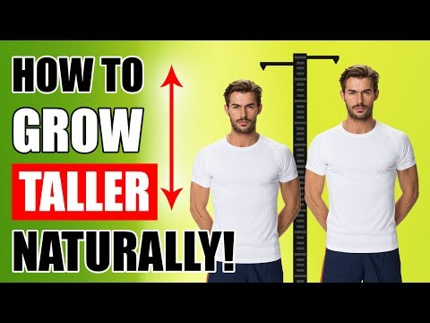 How To GROW TALLER Naturally - Best Foods To Increase Height