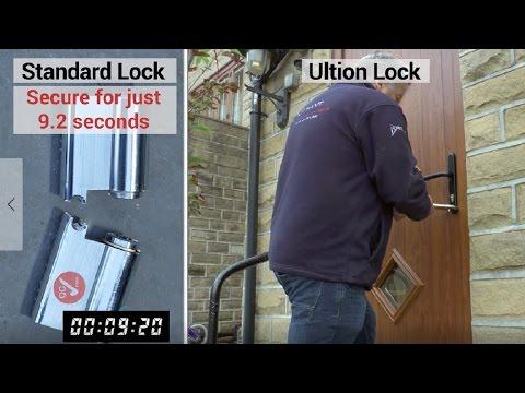 most secure entry door locks
