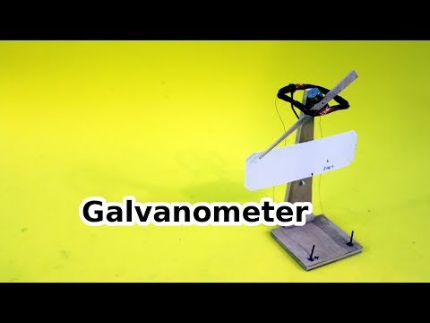 Homemade Galvanometer