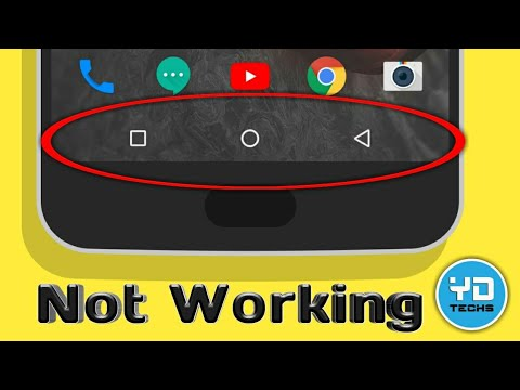 Android soft key Not Working | Home button not working | Back button not working