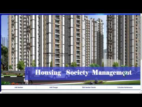 Housing Society Management Project