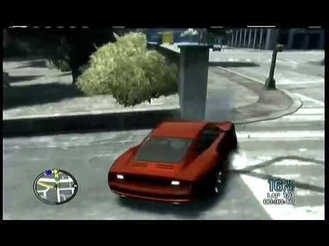 GTA 4 - SUPERCARS RACE - SHORT CIRCUIT - XBOX 360 (16 Players/ 3 laps)