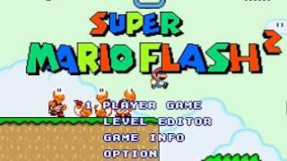 Super Mario Flash 2 - Crash Bandicoot Edition Playthrough (1 Player
