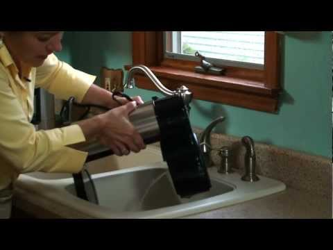 How to drain a BUNN Velocity Brew