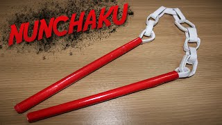 How to Make a Paper Nunchaku