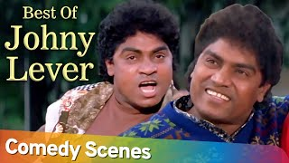 Best of Hindi Comedy Scenes of Johny Lever | Superhit Movie Achanak | Govinda - Paresh Rawal