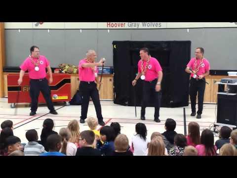 2014 Coon Rapids fire prevention dance