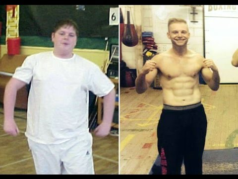 Epic weight loss story - through boxing