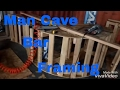 Make a man cave bar (framing). Rough carpentry. DIY