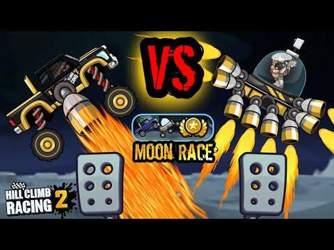 Super Diesel VS Moonlander   Moon Race Event