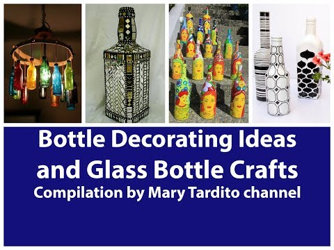 400+ Bottle Decorating Ideas and Glass Bottle Crafts Ideas Compilation