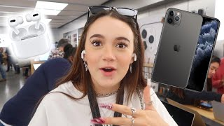 I Test Out the iPhone 11 Max & Airpods Pro ... FionaFrills Vlogs