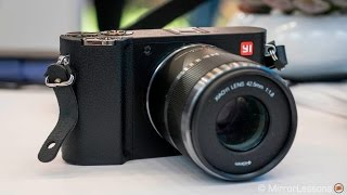 YI M1 Mirrorless / Micro Four Thirds Camera - Early Review - Hands-On at Photokina 2016