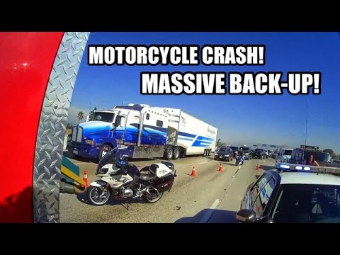 Motorcycle CRASH on The 91-Help Can't Get Through! ~RELOADED~