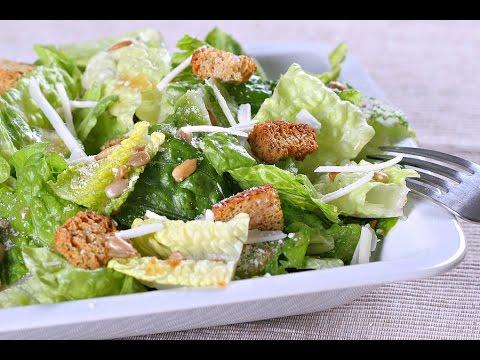 10 Day Detox Diet Recipes - Romaine Lettuce Salad