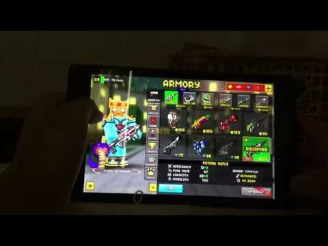 Psycho swat police/psycho soldier/error demo boy/sans (pixel gun 3D skin)