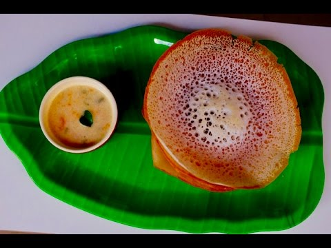 Easy Kerala Palappam With Rice Flour -Recipe no72