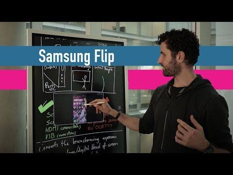 Samsung Flip review 2hrs in: The 55