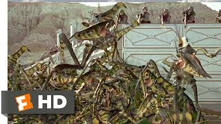 Starship Troopers (5/8) Movie CLIP - Bugs! Bugs! We