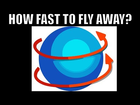 How Fast Would Earth Have to Spin To Throw Us Out?